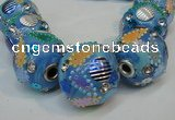 CIB360 23mm round fashion Indonesia jewelry beads wholesale