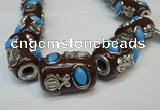CIB370 15*25mm drum fashion Indonesia jewelry beads wholesale