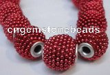CIB391 15mm round fashion Indonesia jewelry beads wholesale