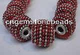 CIB403 17mm round fashion Indonesia jewelry beads wholesale
