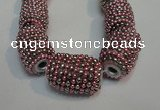 CIB436 14*21mm drum fashion Indonesia jewelry beads wholesale