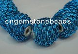 CIB445 19mm round fashion Indonesia jewelry beads wholesale