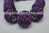 CIB452 24mm round fashion Indonesia jewelry beads wholesale