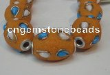 CIB490 18*23mm drum fashion Indonesia jewelry beads wholesale