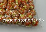 CIB533 22mm round fashion Indonesia jewelry beads wholesale