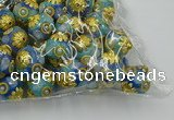 CIB535 22mm round fashion Indonesia jewelry beads wholesale
