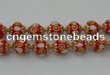 CIB547 22mm round fashion Indonesia jewelry beads wholesale
