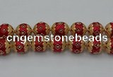 CIB549 22mm round fashion Indonesia jewelry beads wholesale