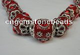 CIB81 16*22mm oval fashion Indonesia jewelry beads wholesale