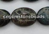 CIJ112 15.5 inches 13*18mm oval dyed impression jasper beads wholesale