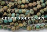 CIJ26 15.5 inches 4mm round impression jasper beads wholesale
