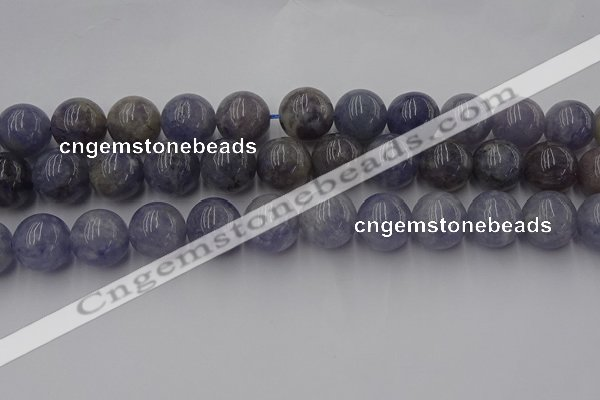 CIL104 15.5 inches 12mm round iolite gemstone beads wholesale