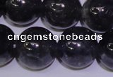CIL16 15.5 inches 11mm round A grade natural iolite gemstone beads