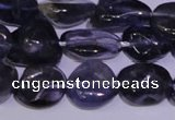 CIL44 15.5 inches 8*10mm nuggets natural iolite gemstone beads