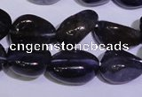 CIL46 15.5 inches 6*8mm � 8*11mm nuggets natural iolite gemstone beads