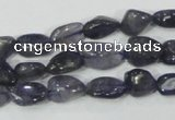 CKC218 15.5 inches 10*14mm nugget natural kyanite gemstone beads