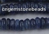 CKC503 15.5 inches 4*10mm rondelle natural Brazilian kyanite beads