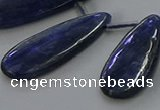 CKC542 Top drilled 15*25mm flat teardrop natural kyanite beads