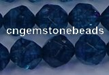 CKC715 15.5 inches 14mm faceted nuggets imitation kyanite beads