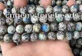 CKJ410 15.5 inches 10mm round k2 jasper beads wholesale