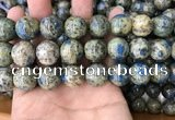 CKJ419 15.5 inches 16mm round k2 jasper beads wholesale