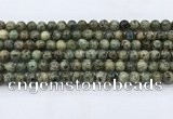 CKJ463 15.5 inches 6mm round natural k2 jasper beads wholesale