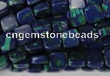 CLA447 15.5 inches 8*8mm square synthetic lapis lazuli beads
