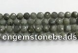 CLB1078 15.5 inches 12mm faceted round labradorite beads
