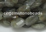 CLB12 16 inches 15*20mm faceted oval labradorite gemstone beads