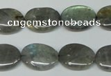 CLB174 15.5 inches 13*18mm oval labradorite gemstone beads