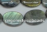 CLB176 15.5 inches 18*25mm oval labradorite gemstone beads