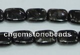 CLB309 15.5 inches 10*14mm rectangle black labradorite gemstone beads