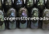 CLB622 15.5 inches 10*20mm rondelle AB-color labradorite beads