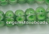 CLG774 14 inches 8*12mm rondelle lampwork glass beads wholesale