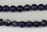 CLJ222 15.5 inches 8mm round dyed sesame jasper beads wholesale