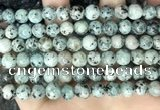 CLJ517 15.5 inches 4mm,6mm,8mm,10mm & 12mm round sesame jasper beads