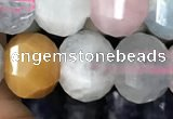 CME205 15.5 inches 7*9mm - 8*10mm pumpkin morganite beads