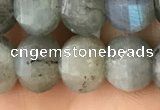 CME210 15.5 inches 7*9mm - 8*10mm pumpkin labradorite beads