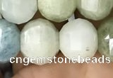 CME233 15.5 inches 10*11mm - 10*12mm pumpkin aquamarine beads