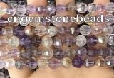 CME250 15.5 inches 7*9mm - 8*10mm pumpkin ametrine beads