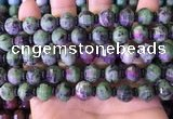 CME329 15.5 inches 9*11mm - 10*12mm pumpkin ruby zoisite beads