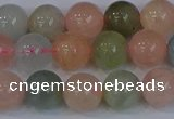 CMG173 15.5 inches 10mm round morganite gemstone beads wholesale