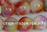CMJ1083 15.5 inches 12mm round jade beads wholesale