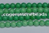 CMJ127 15.5 inches 4mm round Mashan jade beads wholesale