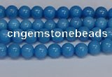 CMJ134 15.5 inches 4mm round Mashan jade beads wholesale