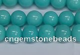 CMJ193 15.5 inches 10mm round Mashan jade beads wholesale