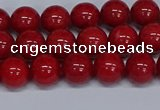 CMJ24 15.5 inches 8mm round Mashan jade beads wholesale
