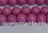 CMJ249 15.5 inches 10mm round Mashan jade beads wholesale