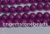 CMJ254 15.5 inches 6mm round Mashan jade beads wholesale