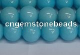 CMJ278 15.5 inches 12mm round Mashan jade beads wholesale